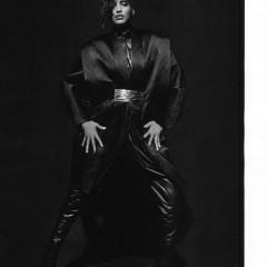 Marque: Balmain Mannequins: Manon Leloup, Cora Emmanuel, Elisabeth Erm, Khadija et Clément Chabernaud Photographes:Inez & Vinoodh