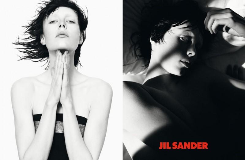 Jil Sander Modèle : Edie Campbell Photographe : David Sims