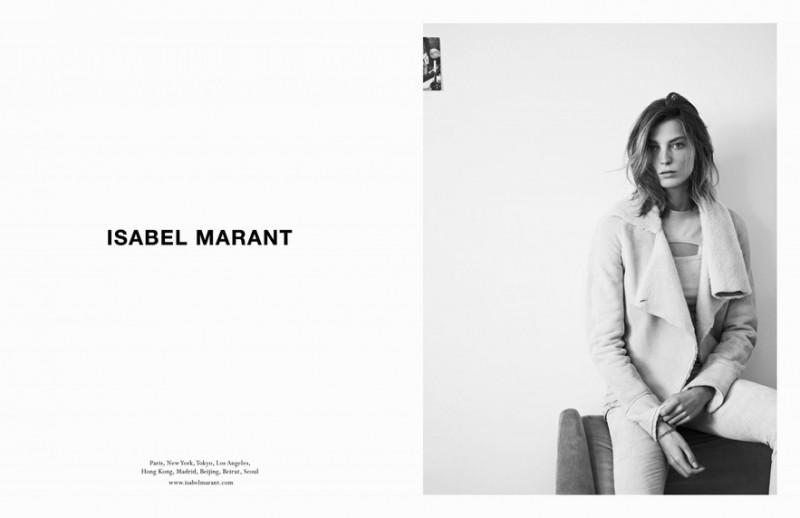 Marque: Isabel Marant Mannequins: Daria Werbowy Photographes: Karim Sadli
