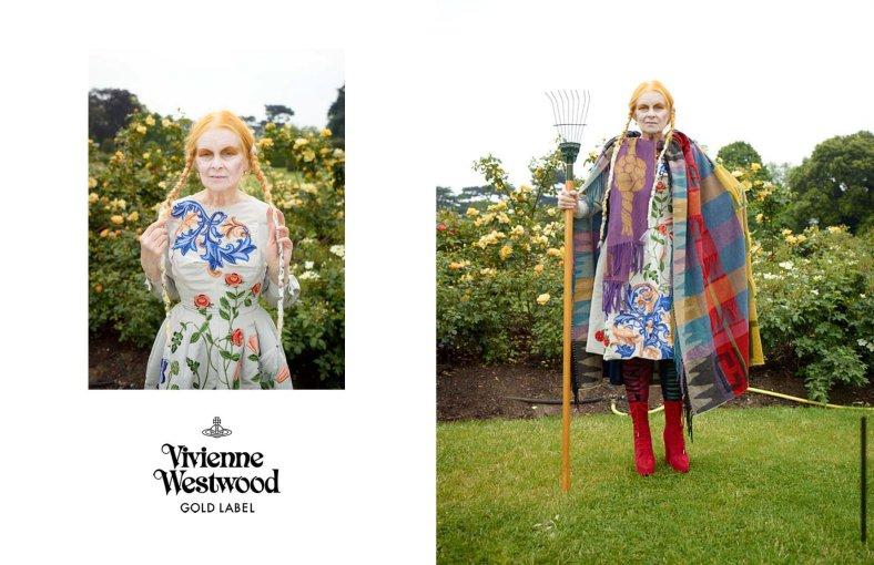 Vivienne Westwood Mannequins: Vivienne Westwood et Iekeliene Stange Photographes: Jack Pierson